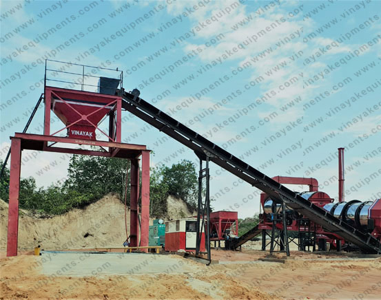 Hot Mix Plant Suppliers in India